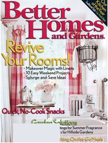 Better homes and gardens magazine Better homes and gardens tonight