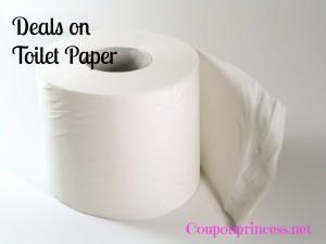Deals on toilet paper