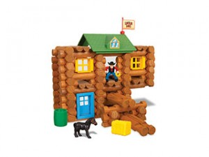 Lincoln Logs homes