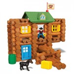 K'NEX Lincoln Logs Redfield Ranch TBuild a home on the range! Lincoln Logs Redfield Ranch includes 124 real wood logs plus colorful figures and other building accessories. Step-by-step instructions for building a ranch complete with a horse and cowboy figure. Parts come in a newly designed and collectible storage container, so clean-up is quick and easy.  Get More Info/Buy Price $39.99