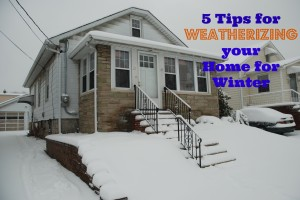 5 Tips for Weatherizing your Home for Winter
