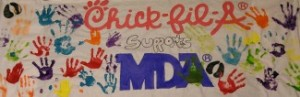 Chick Fil A OKC MDA Event