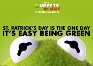 The Muppets Most Wanted Happy St. Patrick's Day